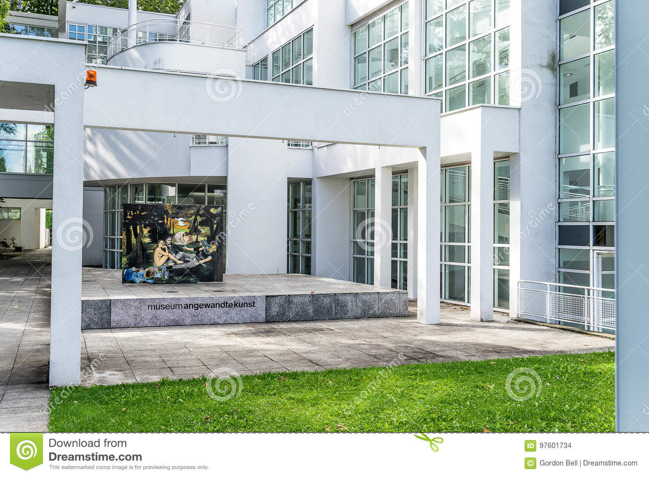 Mak Frankfurt Museum Angewandte Kunst In Frankfurt Editorial Stock Image - Image Of Society, Main: 97601734