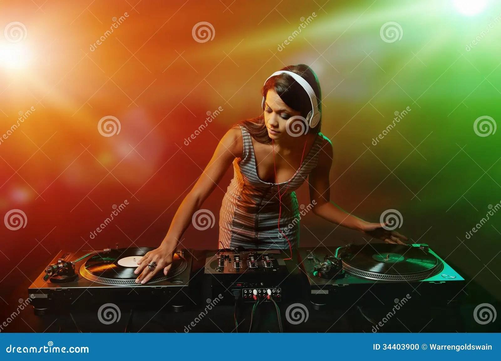 Victoria Falls Wallpaper Music Dj Woman Stock Photo Image 34403900
