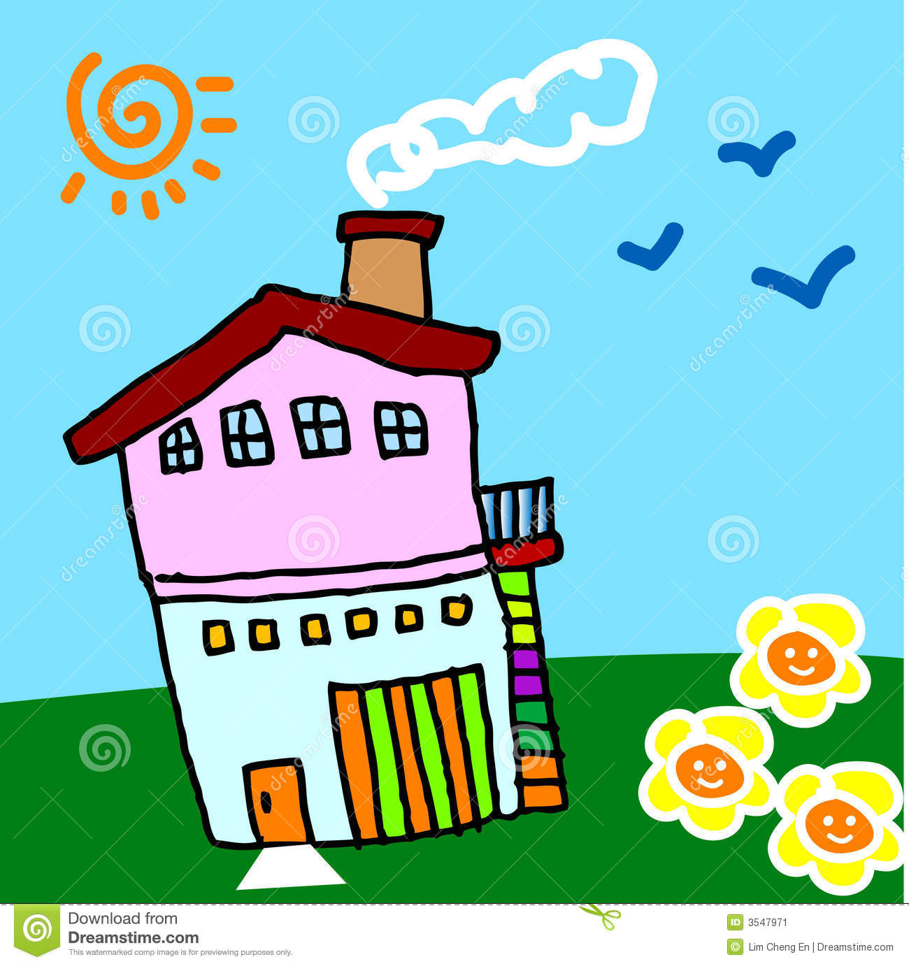 My Sweet Home My Sweet Home Stock Image Image 3547971