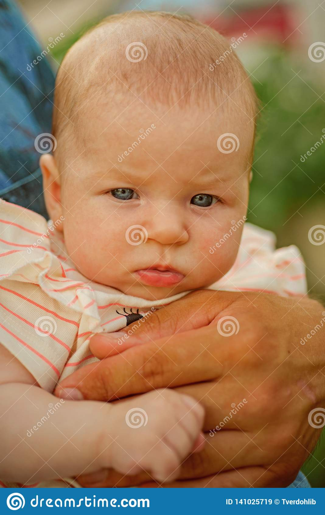 Newborn Infant Normally Suffer From New Born New Life Newborn Boy Or Girl Healthy Life To