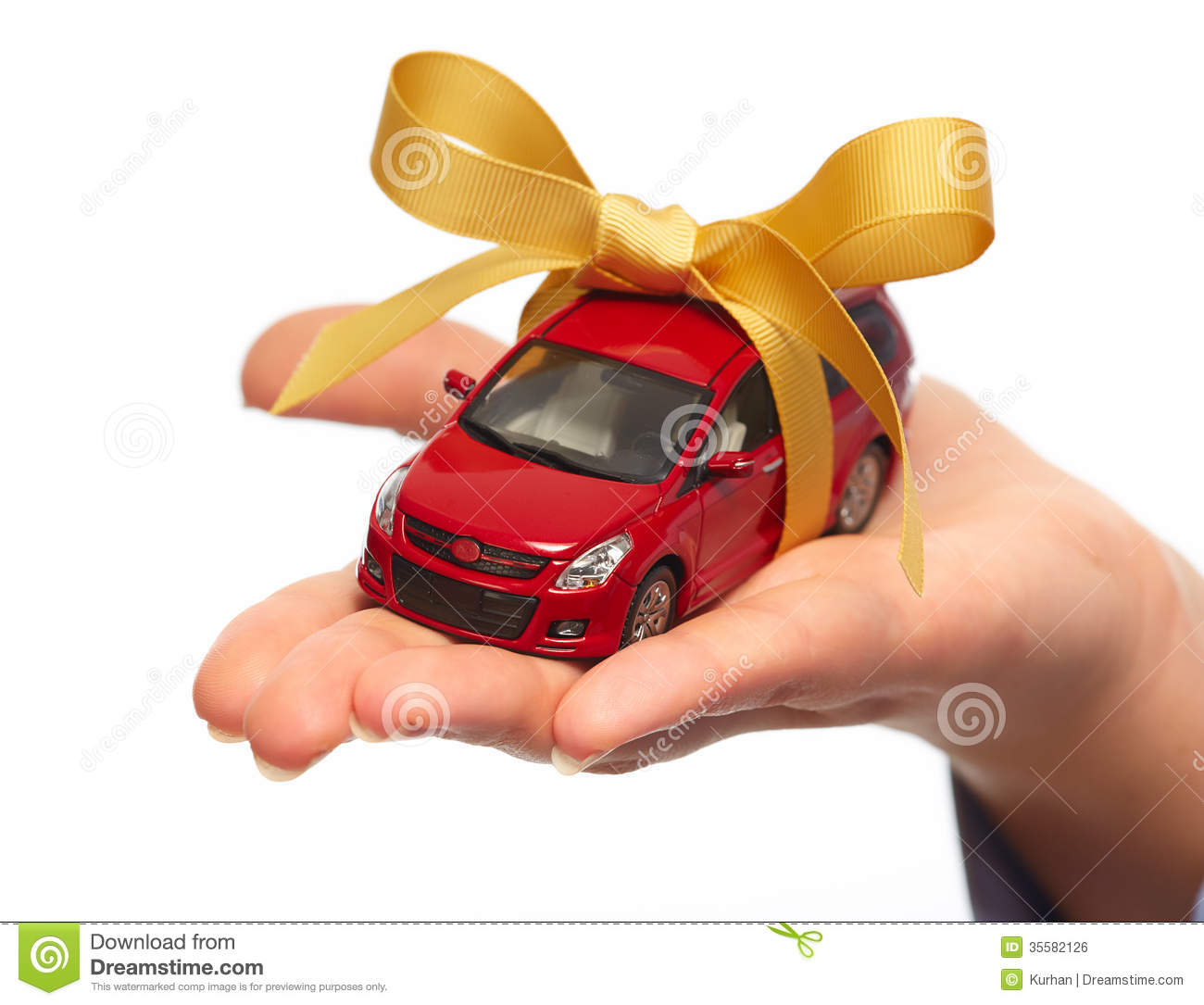 Gift For New Homeowner Woman New Car Gift Royalty Free Stock Image Image 35582126