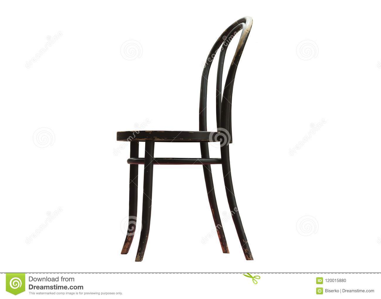 Famous Chair Thonet Chair No 14 Before Renovation Stock Photo Image Of