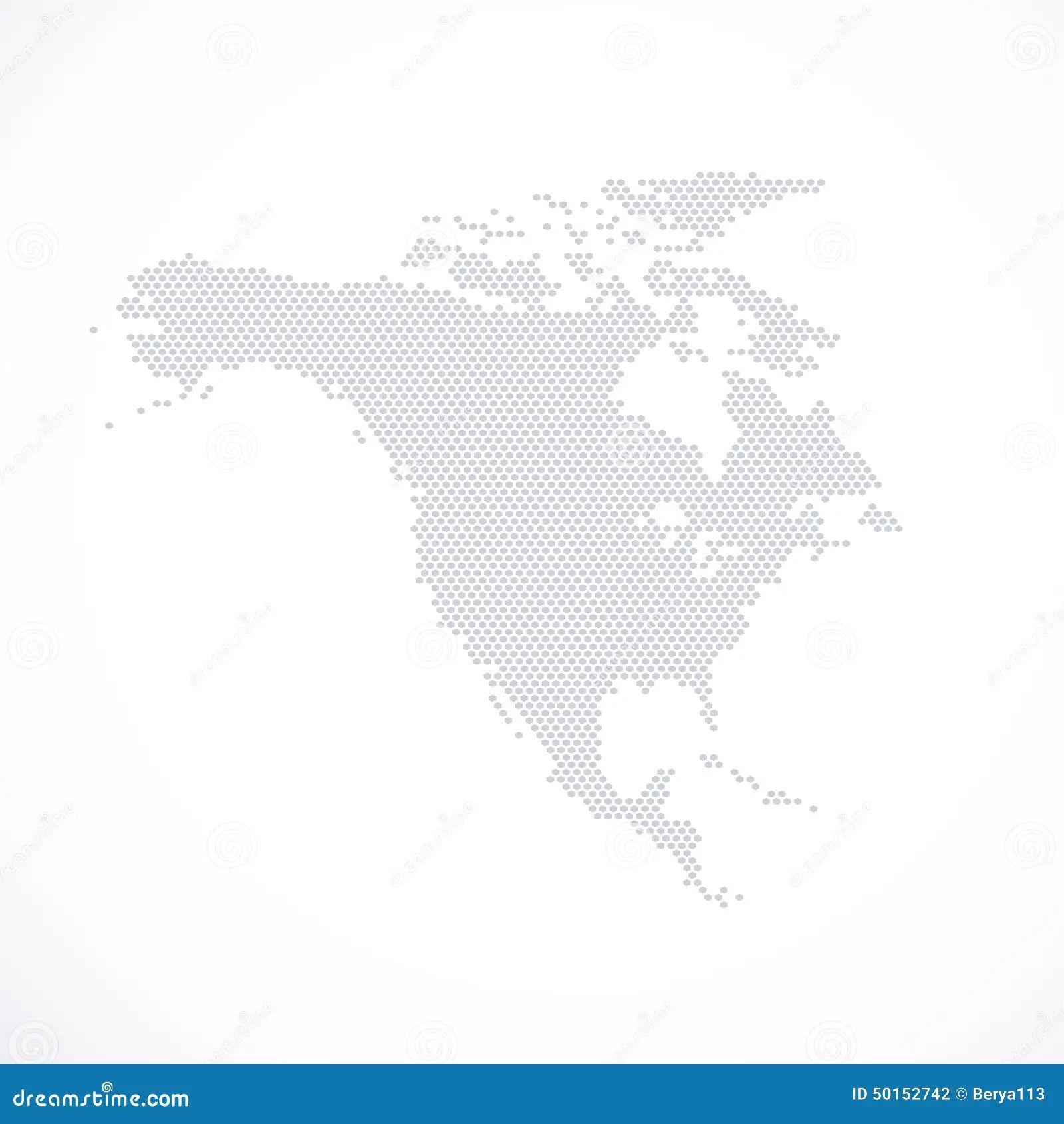 north america map clipart