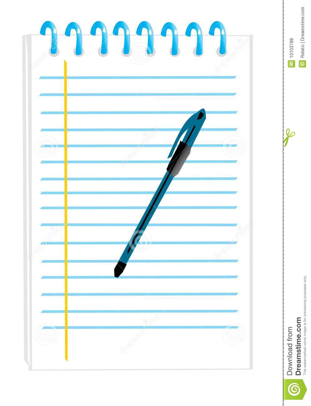 Points Inches Ruler Set Illustration Auto Electrical Wiring Diagram Acdelco 15071233 Plug Notepad With A Pen Royalty Free Stock Photos