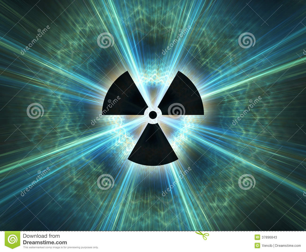 Danger 3d Wallpaper Download Nuclear Radiation Symbol Stock Photos Image 37896843