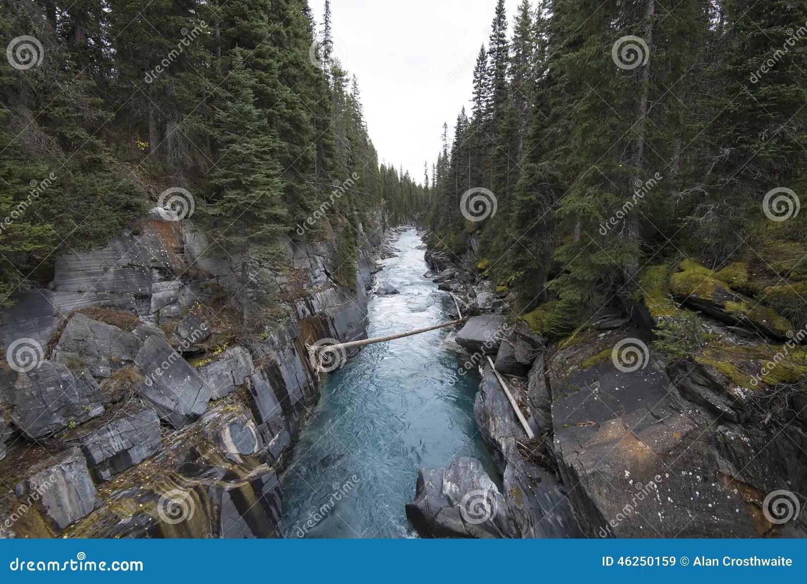 Numa Falls Wallpaper Numa Falls Kootenay National Park Stock Photo Image