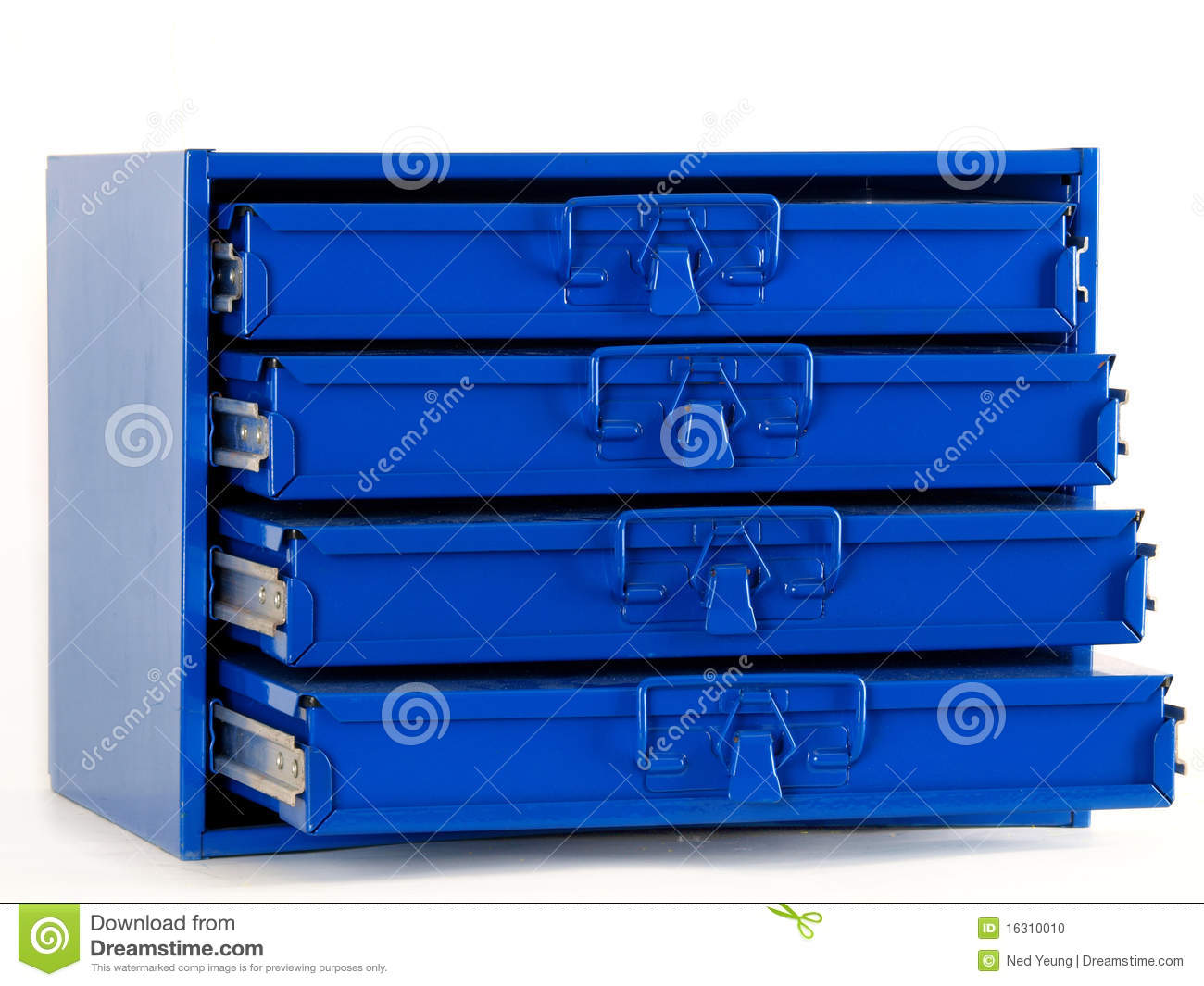 Bolts Storage Nut Bolt And Small Hardware Organizer Stock Photo