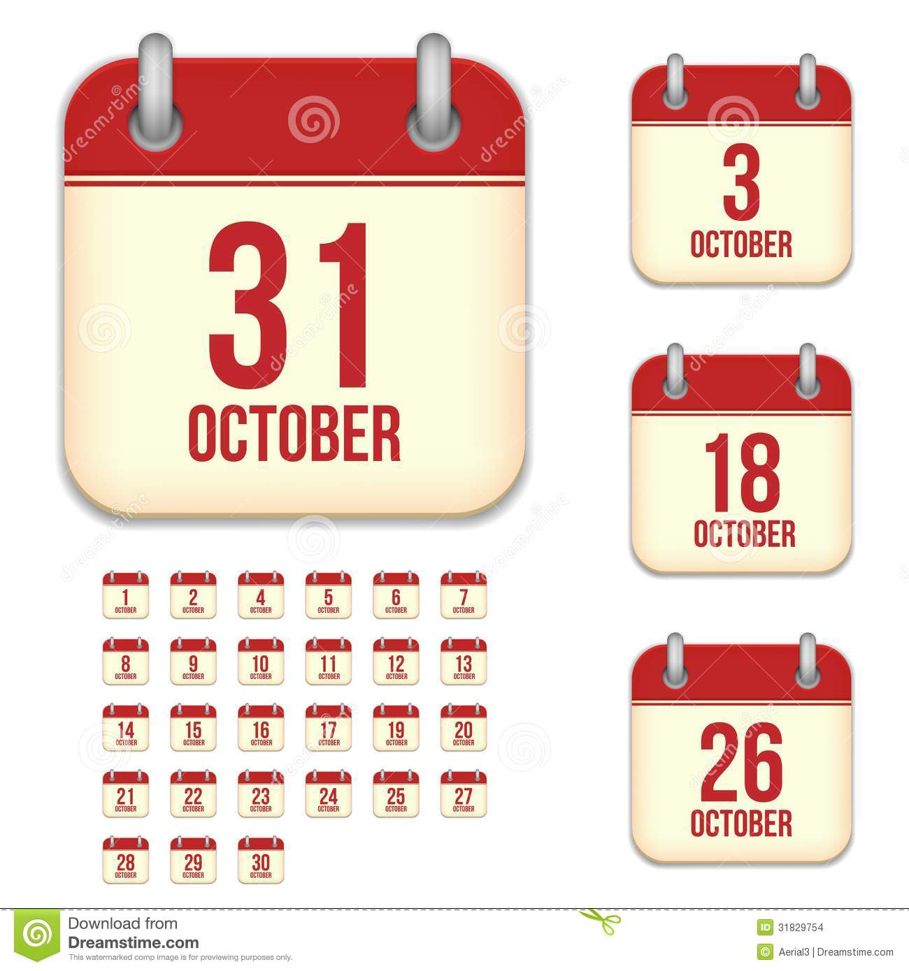 Month Calendar Vector Why Is January Month In Java Calendar Stack Overflow October Vector Calendar Icons Stock Images Image 31829754