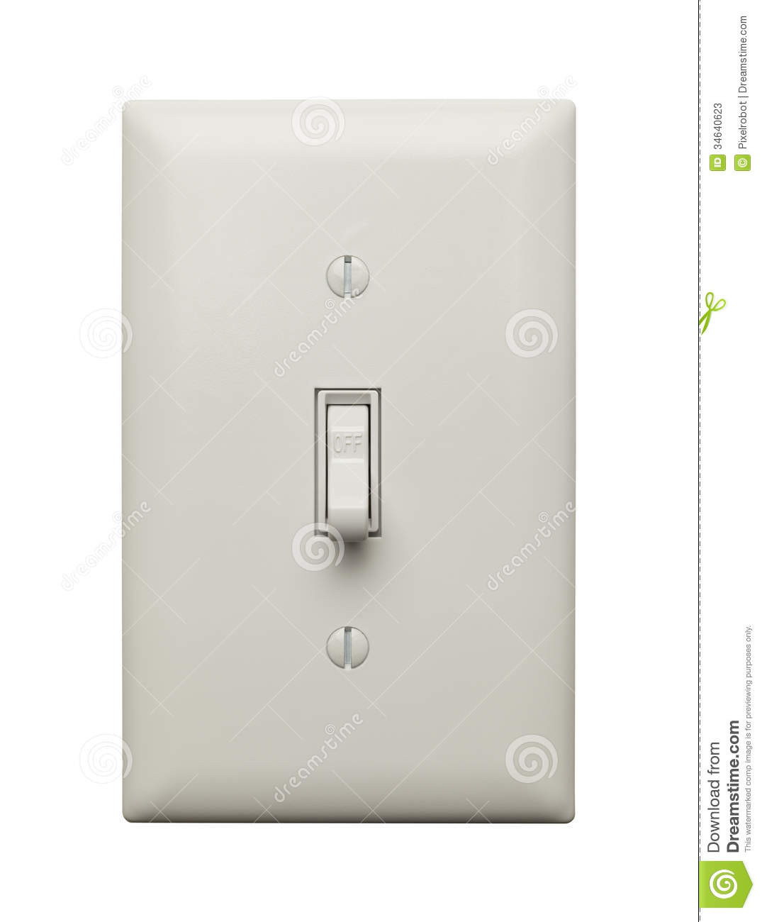 Light Switch Off Clipart Off Switch Stock Photos Image 34640623