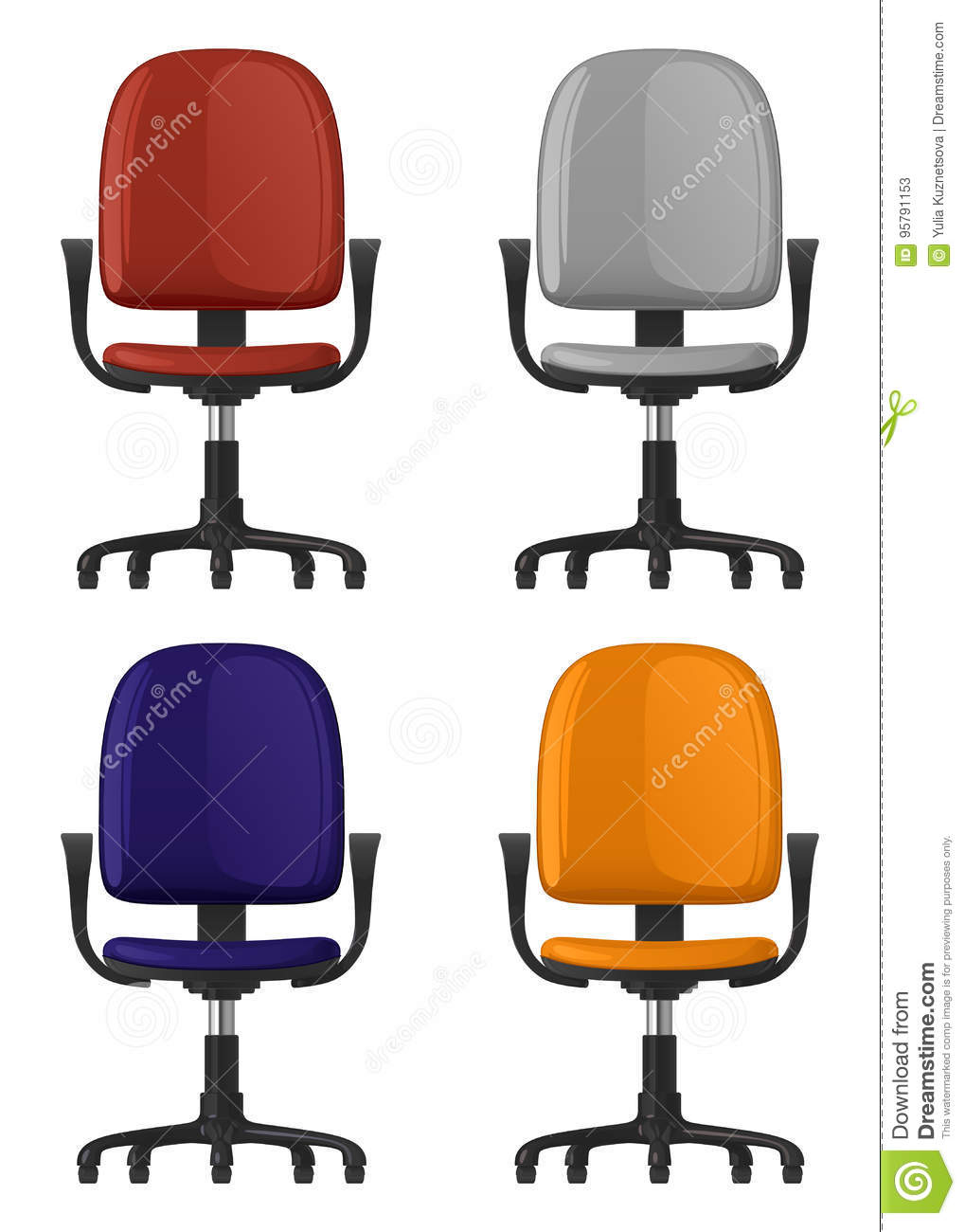 Spinning Chair Chair Spinning Stock Illustrations 396 Chair Spinning Stock
