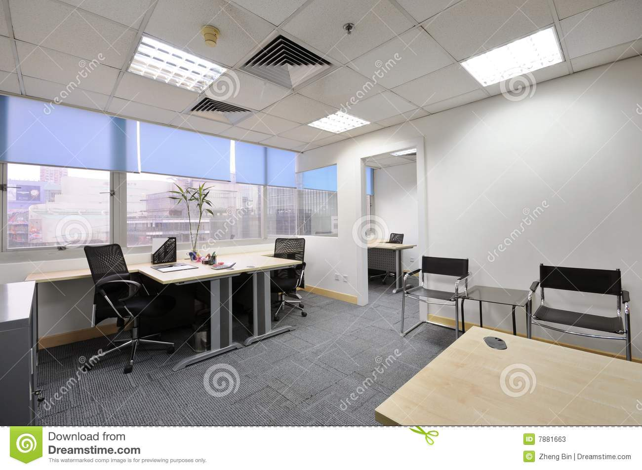 3d House Wallpaper Room Office Room Stock Photos Image 7881663