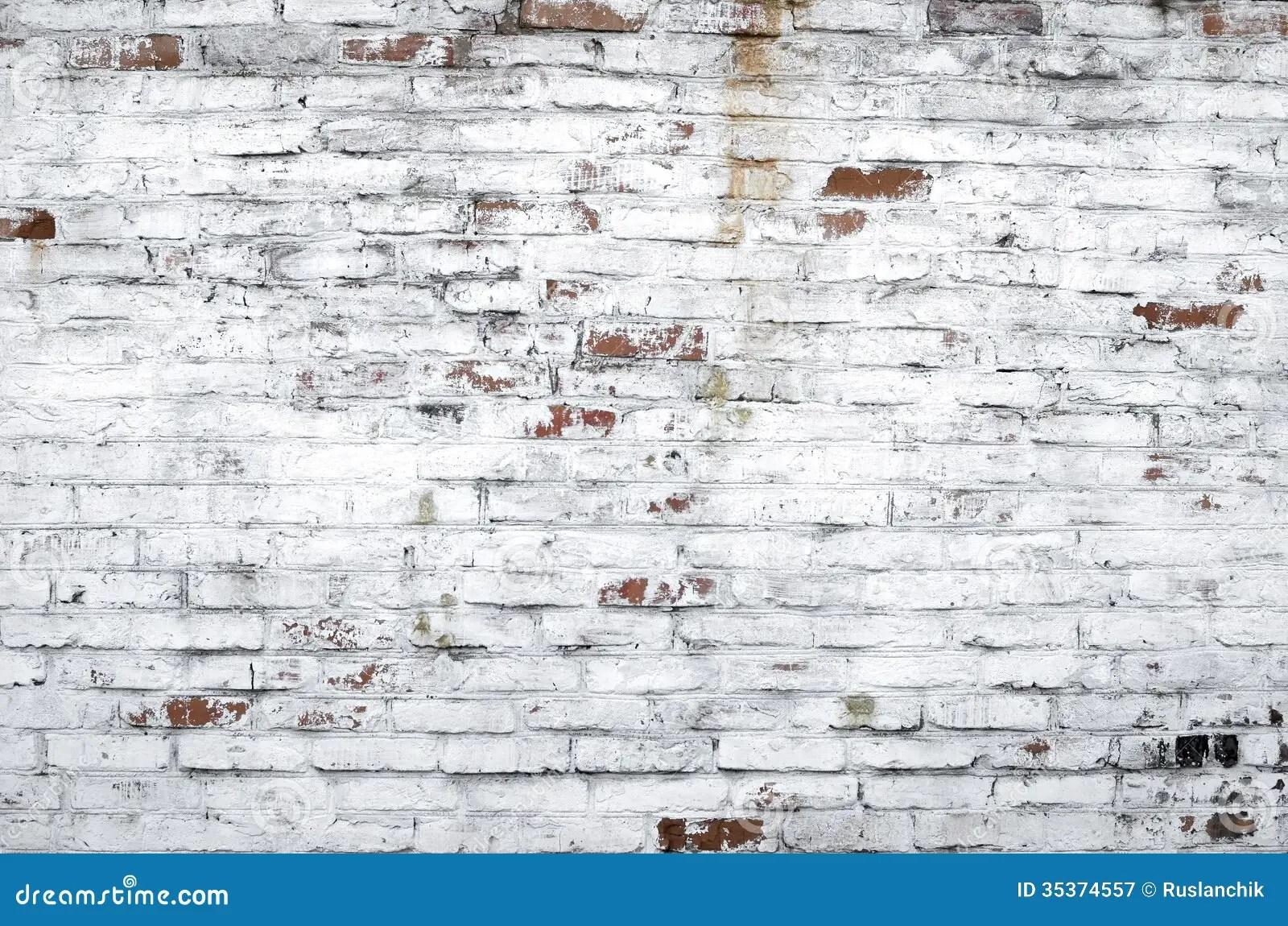 Vintage Brick Wallpaper 3d Old Brick Wall Stock Image Image Of Wall Masonry White