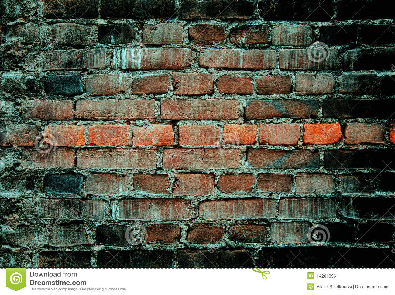 Distressed Brick Old Brick Wall Distressed Royalty Free Stock Image Image