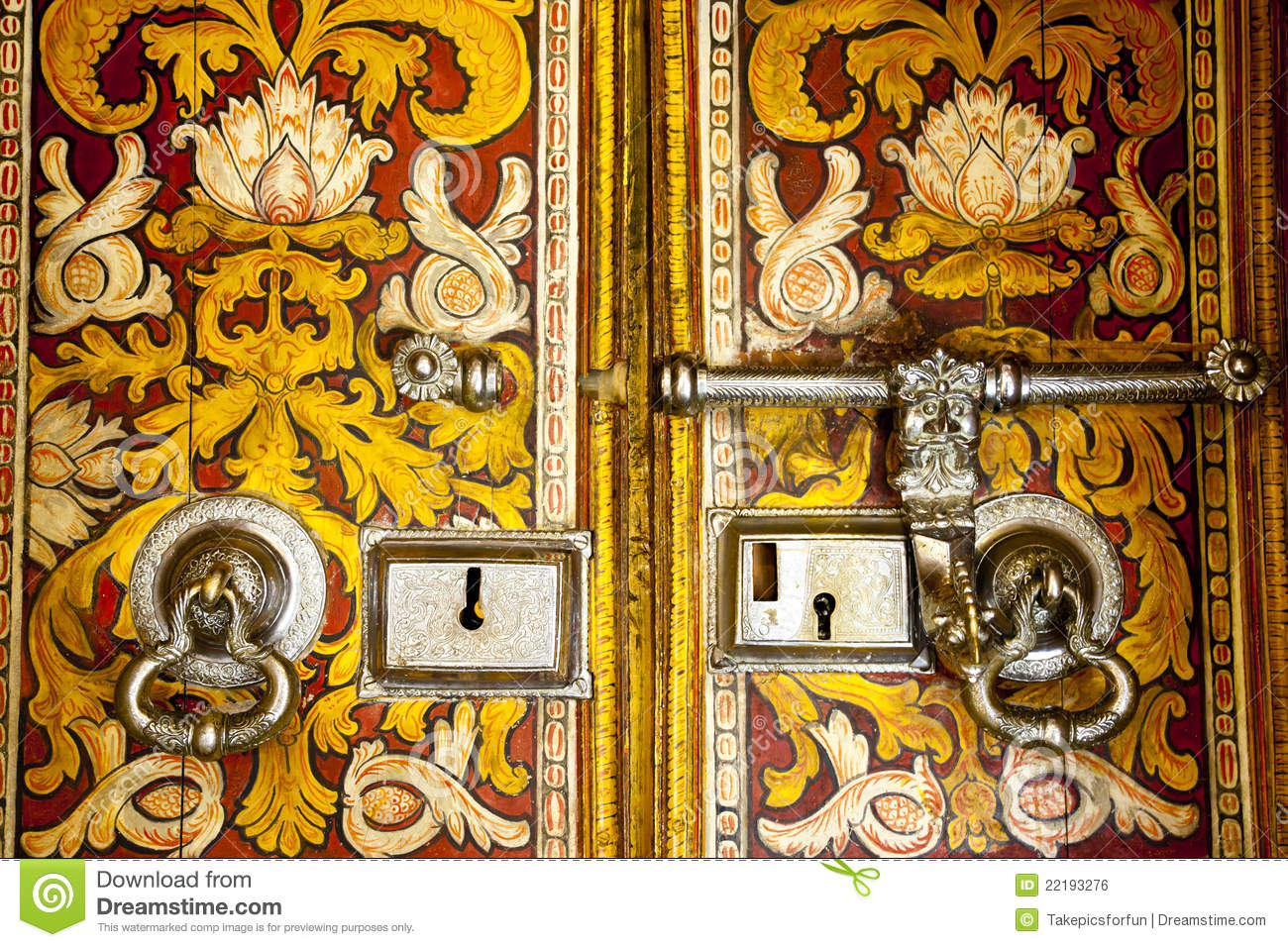 Door Designs Sri Lanka Photo Gallery Old Buddhist Temple Door In Sri Lanka Stock Photo Image