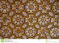 Old Church ceiling stock photo. Image of church, concrete ...