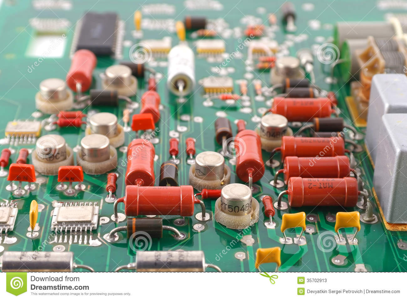 Electronic Circuit Board Stock Image Of Electrical Auto Photos 19113403 Old