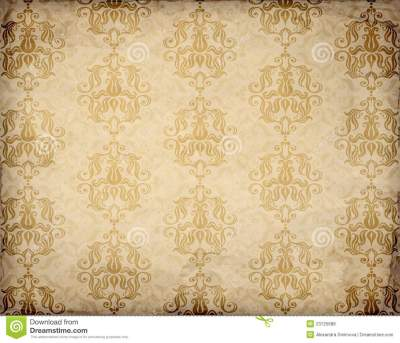 Old Fashioned Wallpaper Pattern Stock Vector - Image: 23725688