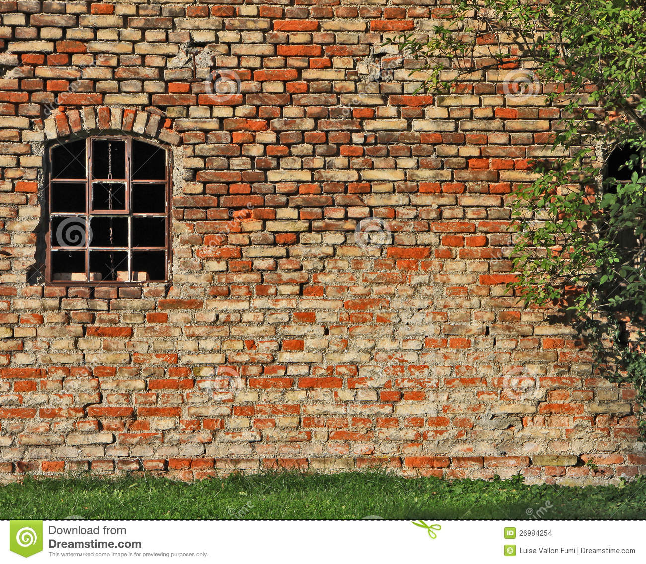 Old brick wall as a frame 01 stock photo image 18377500 - Old Brick Wall As A Frame 01 Stock Photo Image 18377500 Landscaping Plans Prices Of Download