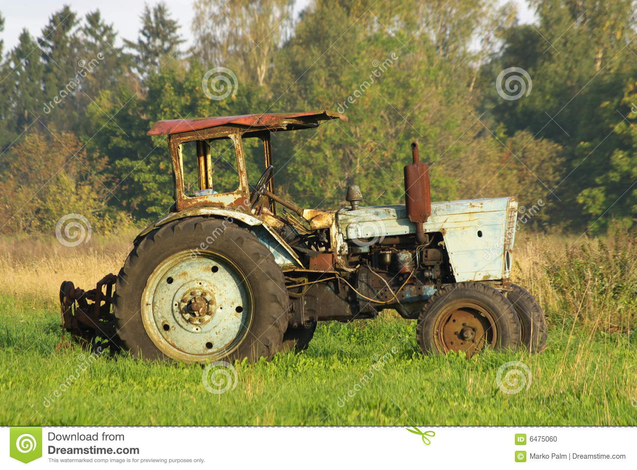 Dirty Girl Wallpaper Download Old Rusty Tractor Stock Photo Image 6475060