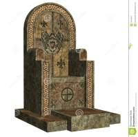 Old throne stock illustration. Image of medieval, chair ...