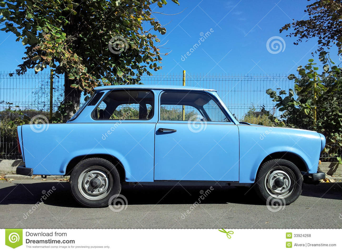 Trabant Clipart Old Trabant Car Royalty Free Stock Photos Image 33924268