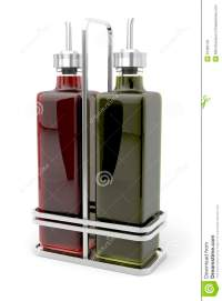Olive Oil And Vinegar Royalty Free Stock Photos