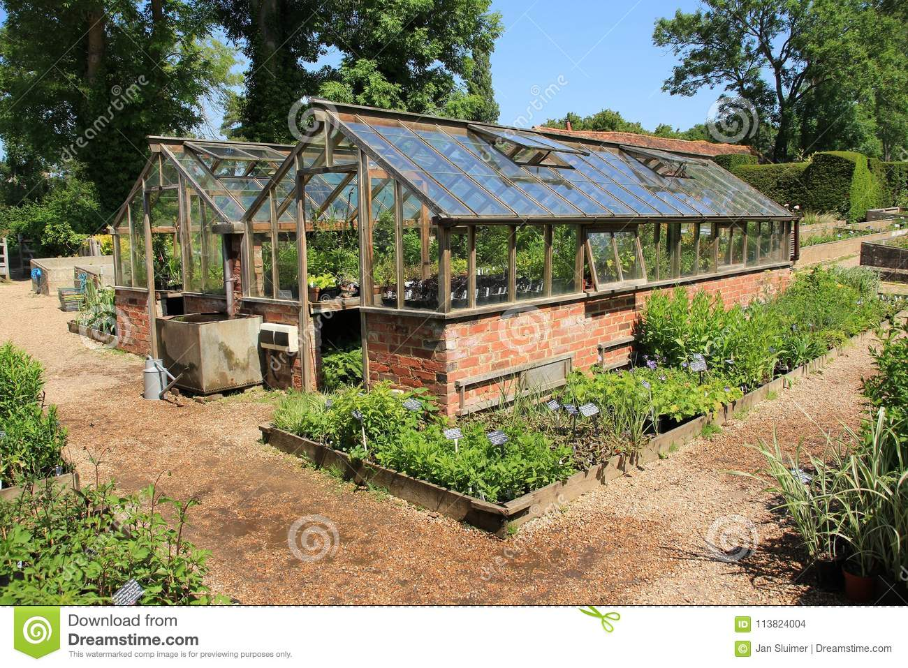 Hot Houses For Sale Garden With Hothouses In Great Dixter House Gardens In The