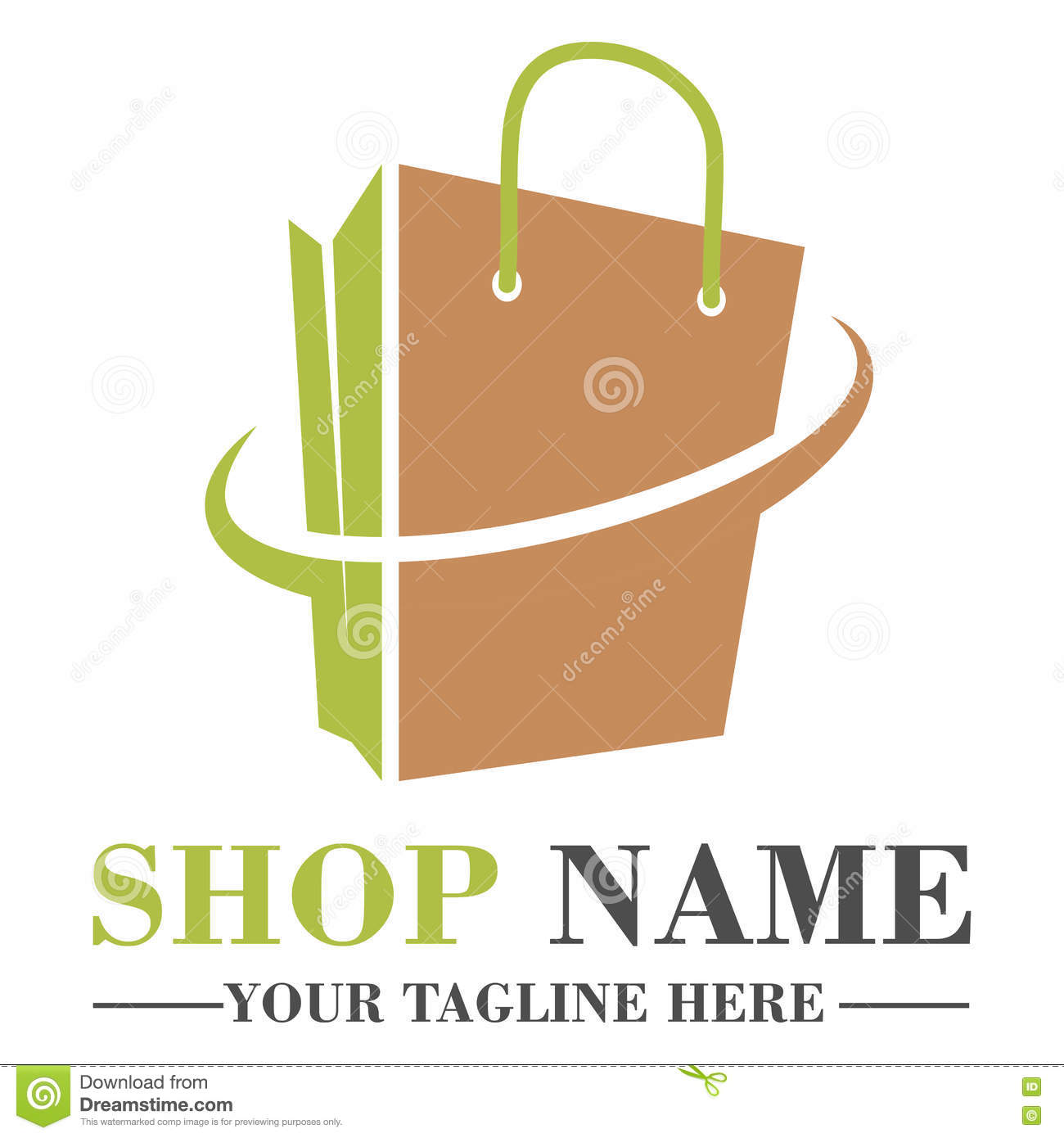Design Online Shop Online Shop Logo Template Design Stock Vector Illustration Of