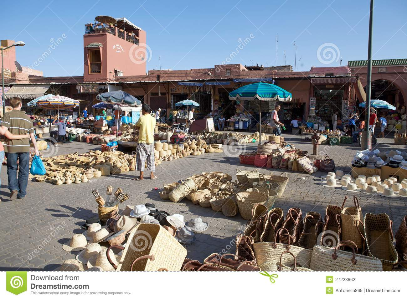 Stock Markets Open Time Open Air Market Place Editorial Photography Image Of