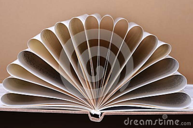 Open book pages stock image Image of book, composition - 70689959