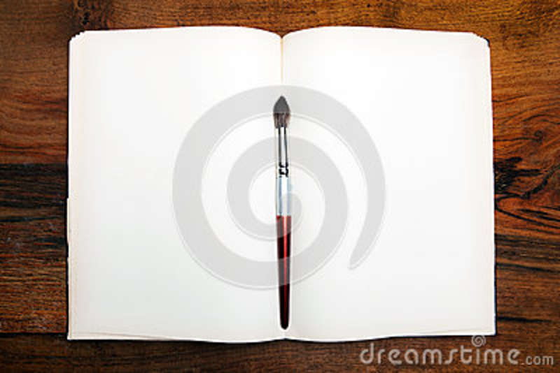 Open book on wooden table stock photo Image of table - 37026434