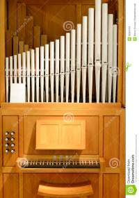 Organ With Pipes Of Porcelain Stock Photo - Image: 36394734