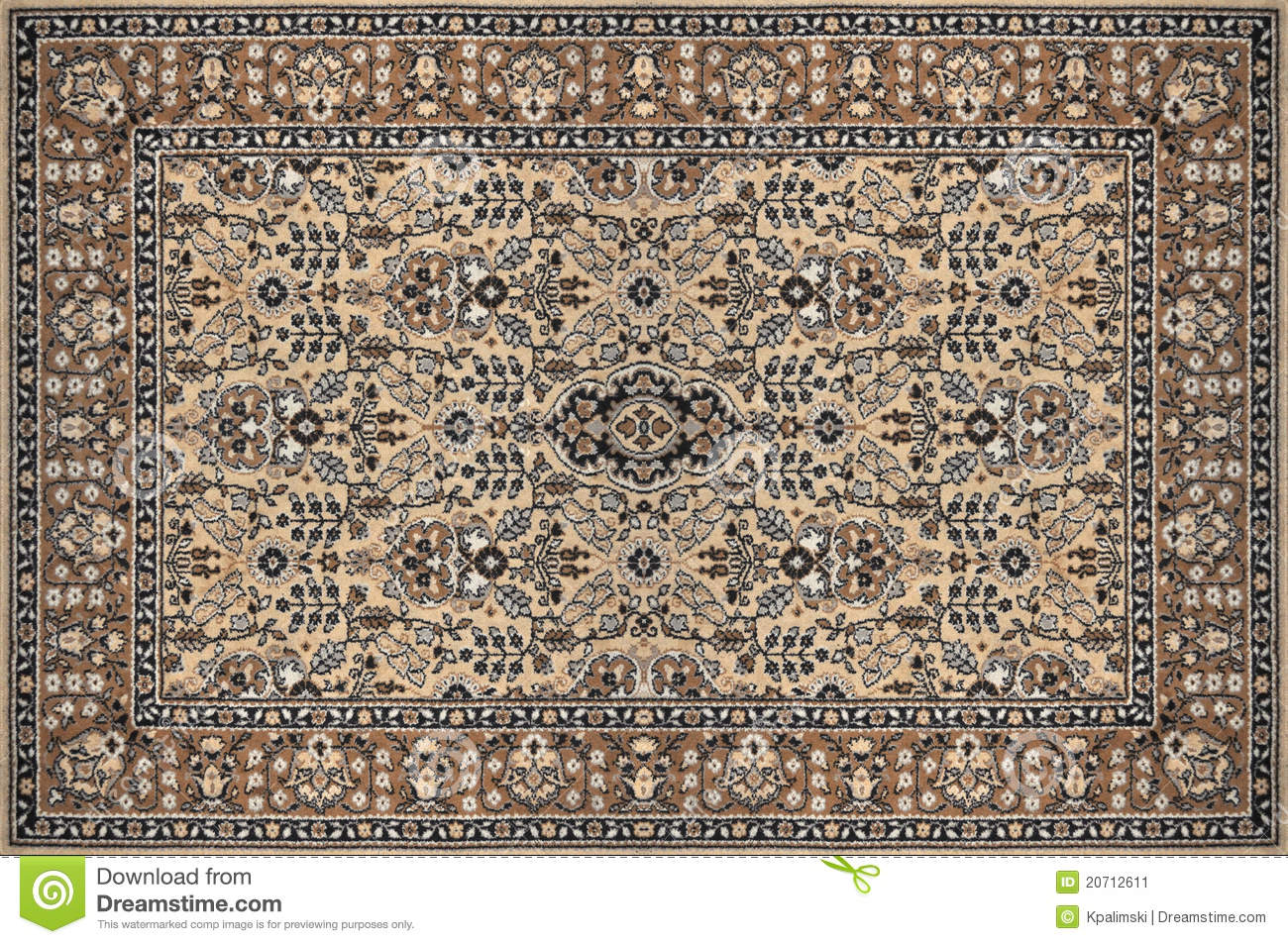 Arabische Teppiche Oriental Ornate Traditional Carpet Texture Stock Image