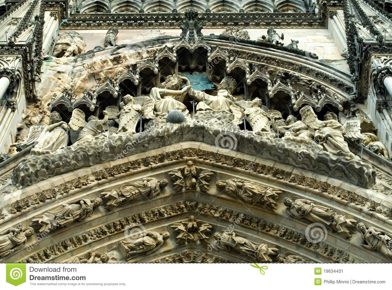 Decoration Reims Ornate Decorations Reims Stock Image Image 19634431