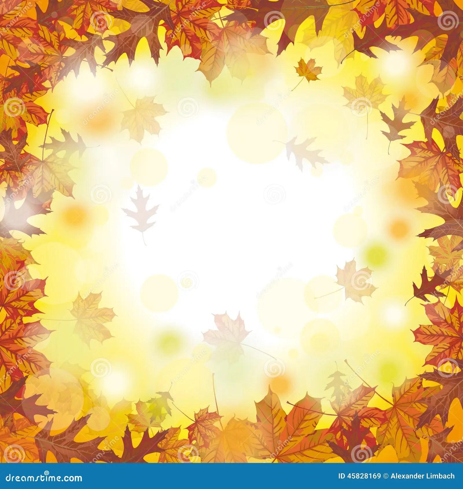 Fall Harvest Wallpaper Christian Outside Autumn Foliage Fall Stock Vector Illustration Of