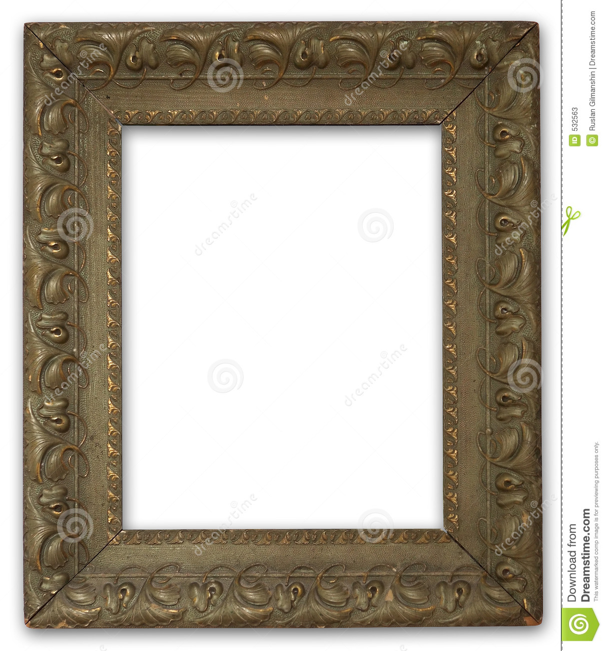 Painting Frames Painting Frame Stock Image Image Of Gold Isolate