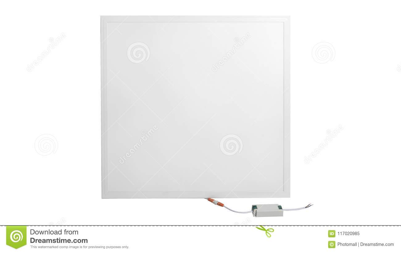 Led Verlichting Met Los Paneel Panel Led Lamp Stock Image Image Of Detector Nobody 117020985
