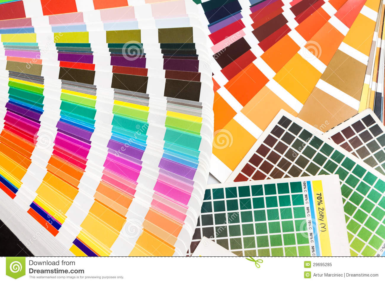 Ral Cmyk Pantone Cmyk Ral Color Swatches Stock Image Image Of Colourful