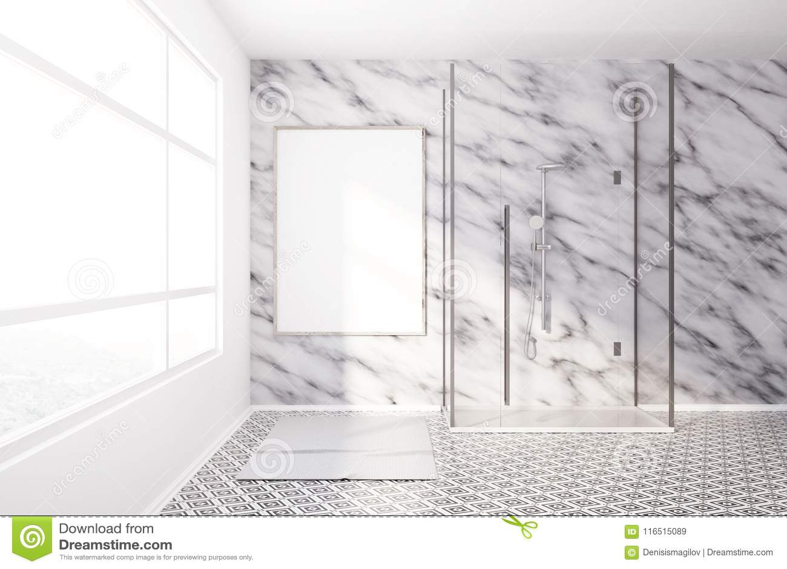 Cuartos De Baño Modernos Ducha | Cuarto De Baño Moderno Con Ducha De ...