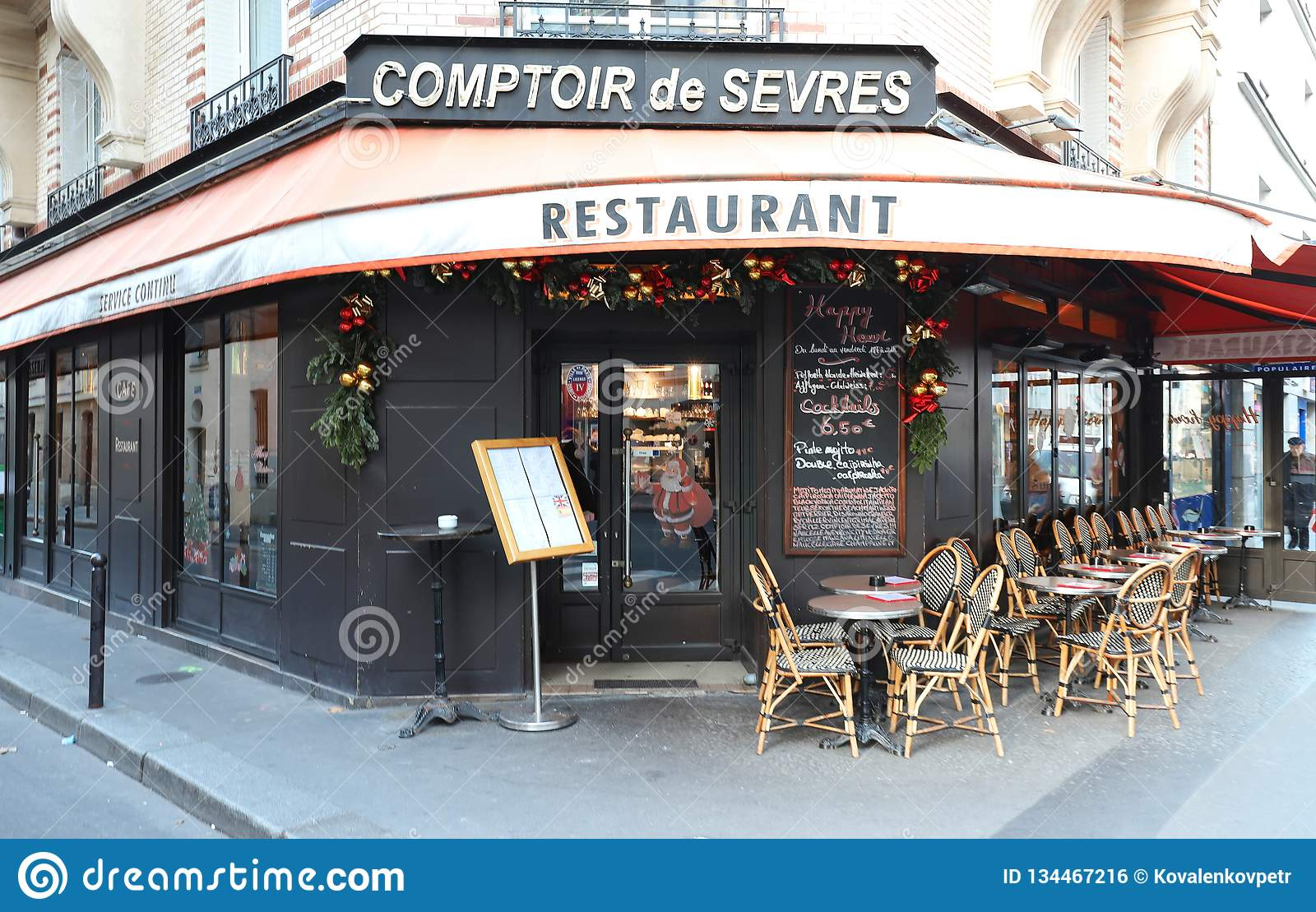 Comptoir De L Or Paris The Traditional Small French Restaurant Le Comptoir De Sevres