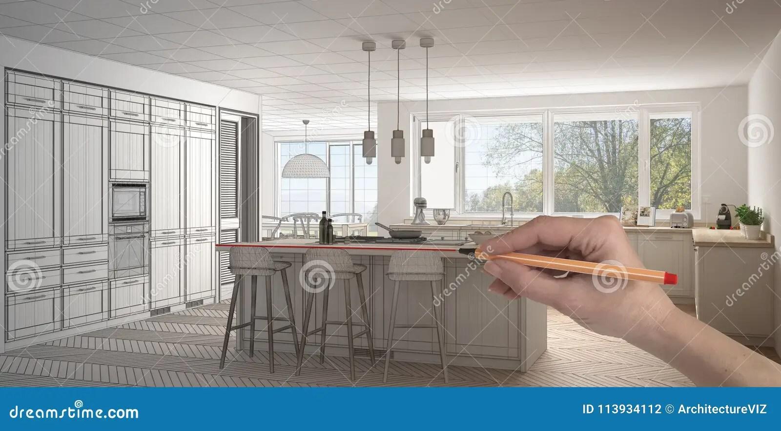 Cucina Classica Bianca | Idee Per Arredare Una Cucina Classica Foto ...