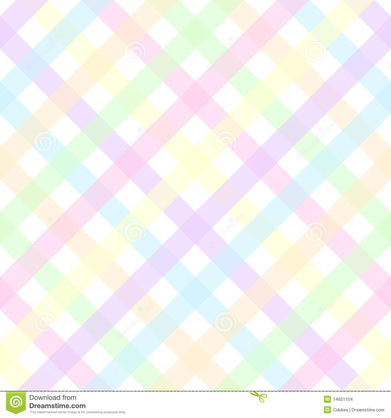 Cute Pattern Background Wallpaper Pastel Plaid Stock Images Image 14651104