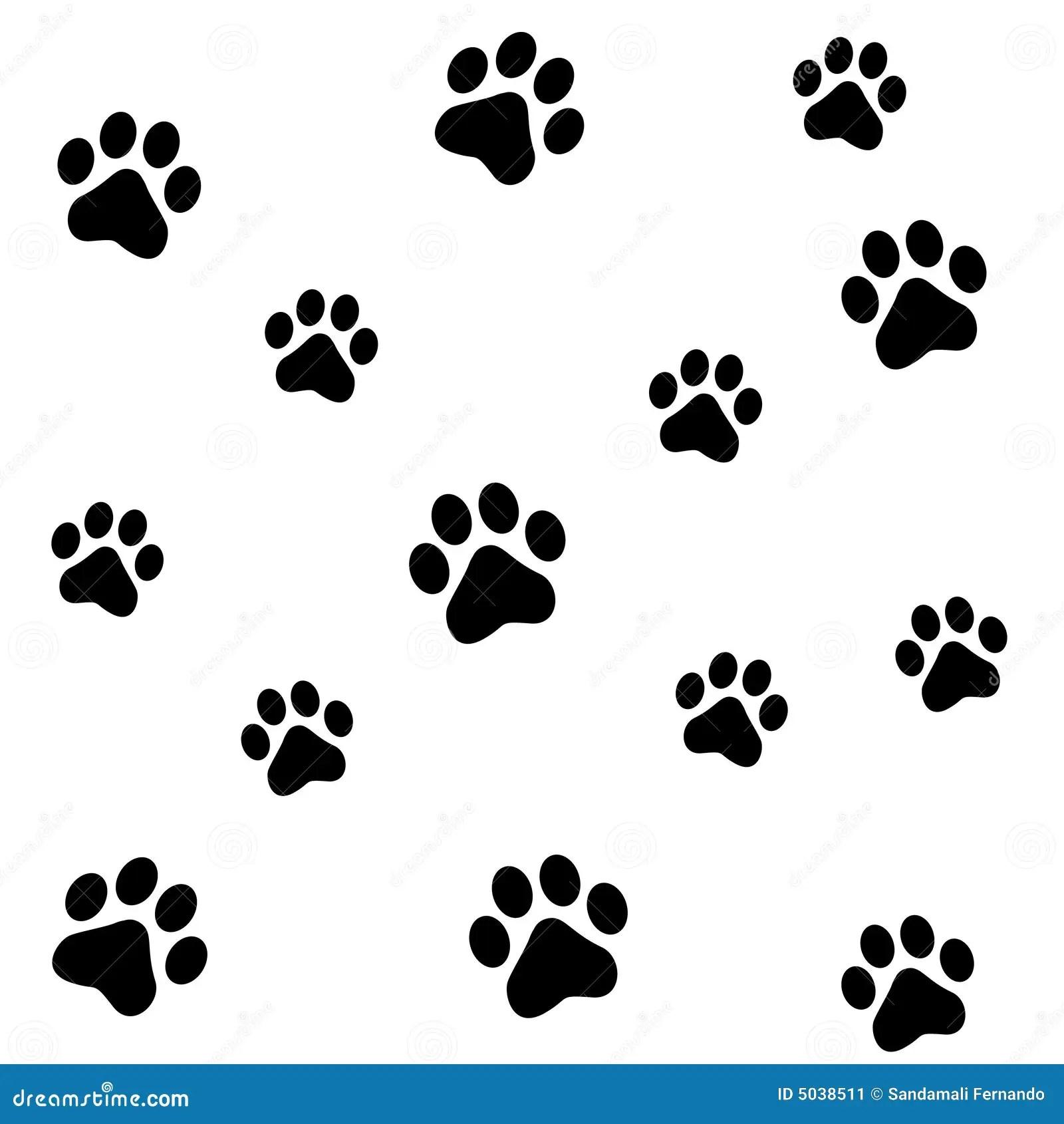 3d Cheetah Wallpaper Paw Prints Stock Image Image 5038511