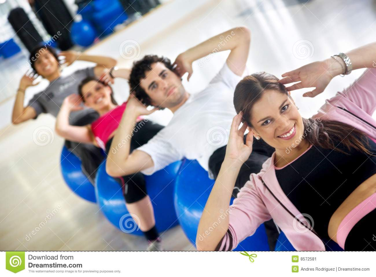 Gym Workout Girl Wallpaper People Doing Sit Ups Stock Image Image Of Happy Crutches