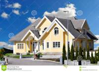 Perfect home stock image. Image of architecture, roof ...