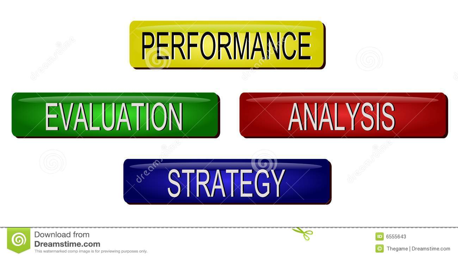 Business Plan Template Sample Form Biztree Performance Evaluation Stock Photos Image 6555643