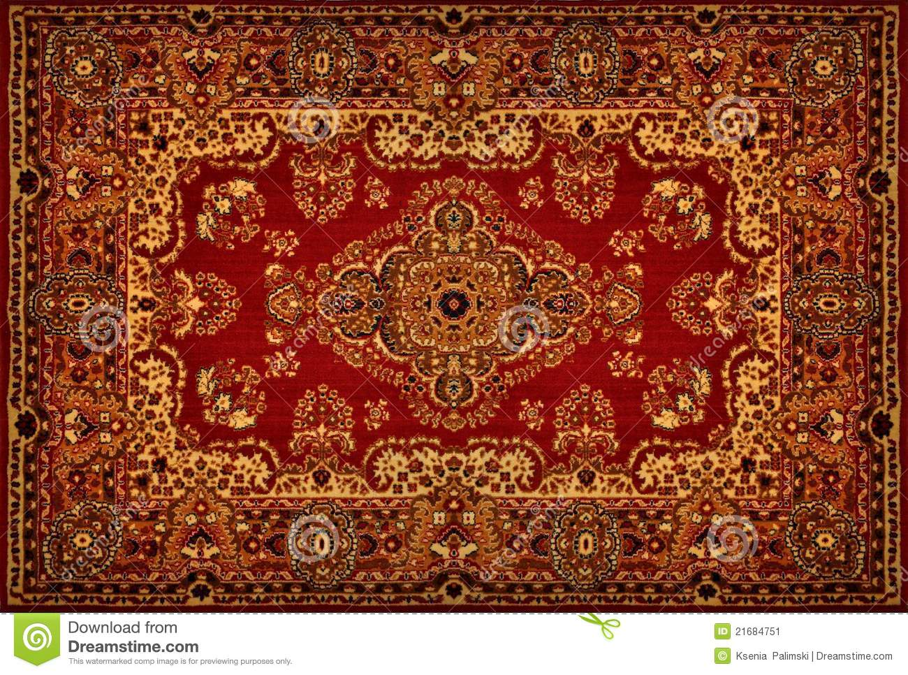 Perser Teppich Englisch Persian Carpet Texture Stock Image. Image Of Border