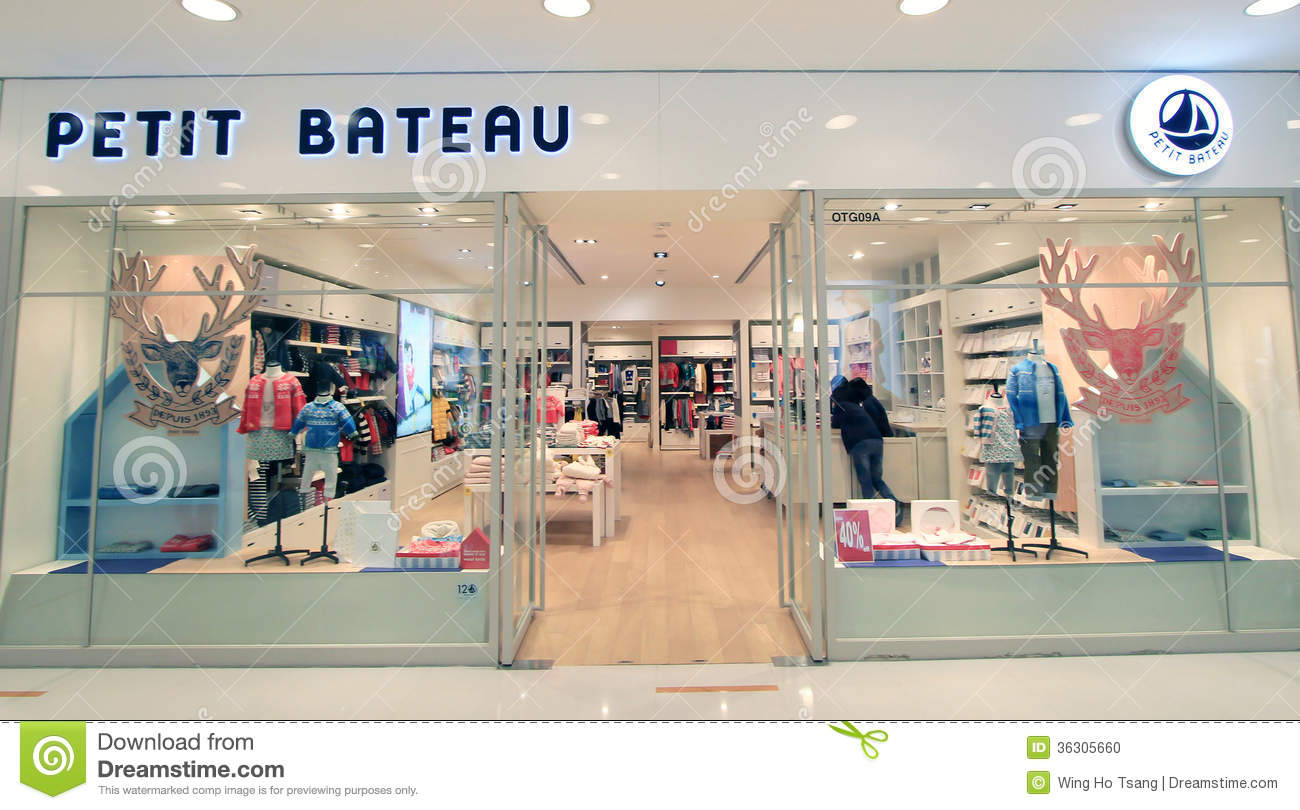 Petit Store Petit Bateau Shop In Hong Kong Editorial Image Image Of Hong