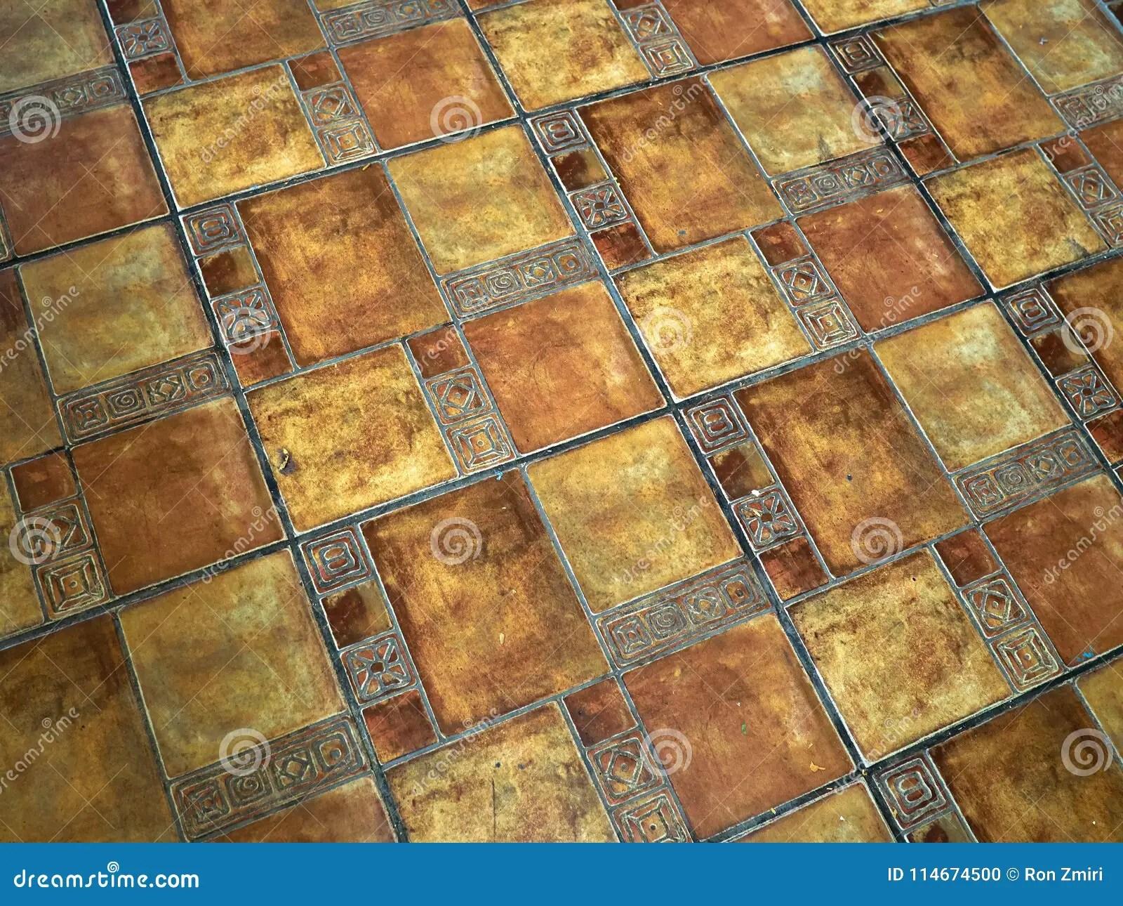 Piastrelle terracotta immagine del mosaico di piastrelle in