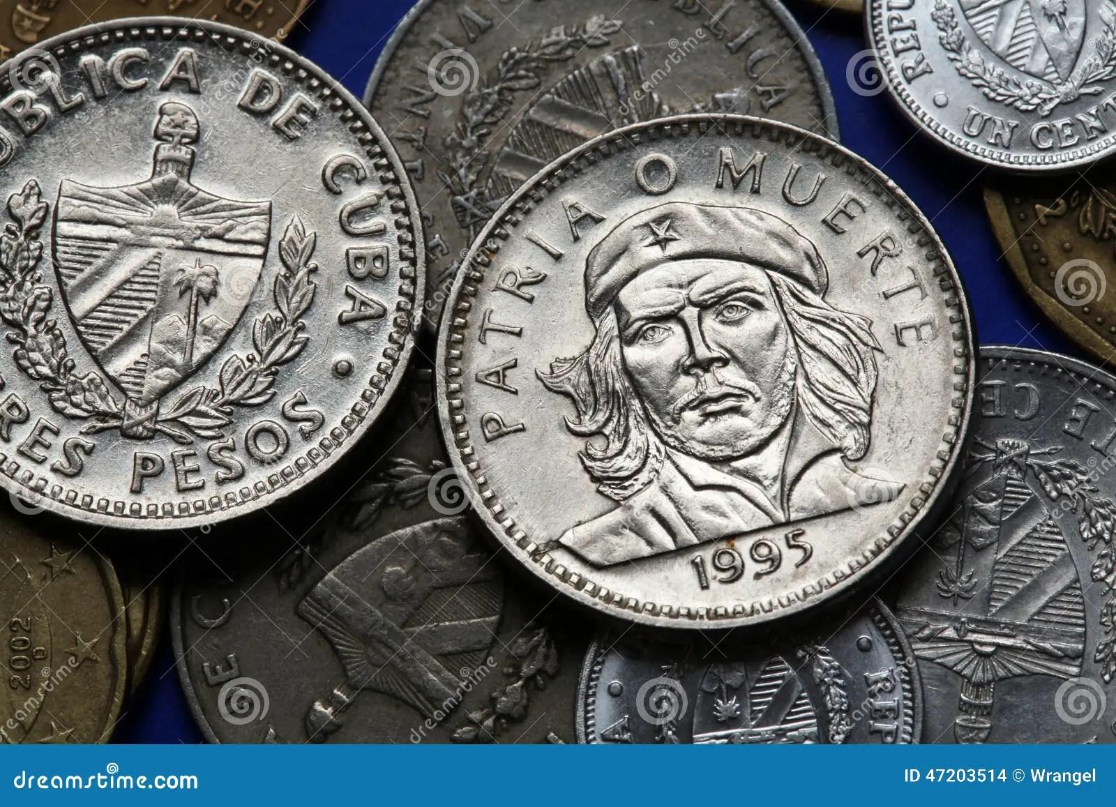 Cuba 3d Wallpaper Pi 232 Ces De Monnaie Du Cuba Ernesto Che Guevara Photo Stock
